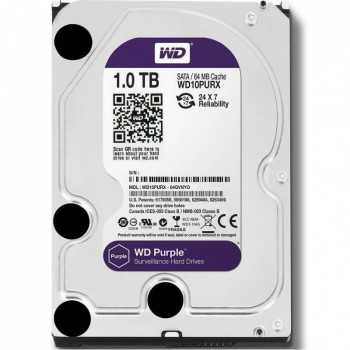 Disque Dur Interne de Surveillance WESTERN DIGITAL 1To 3.5""