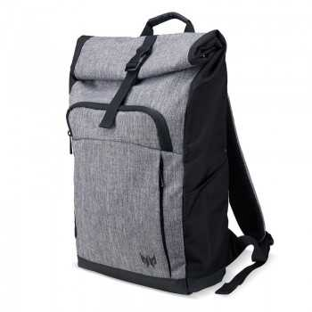 "Sac à Dos ACER Roll-Top Pour PC Portable 15.6"" - Gris&Noir"