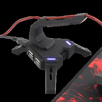 HUB USB WHITE SHARK SCORPION X-200