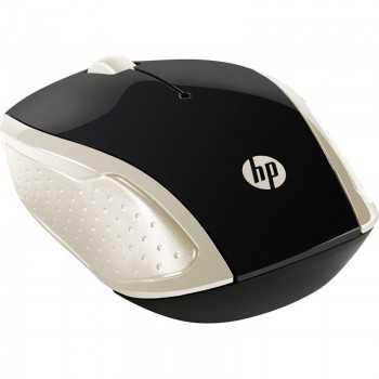 Souris Optique HP sans Fil 200 - Gold (2HU83AA)