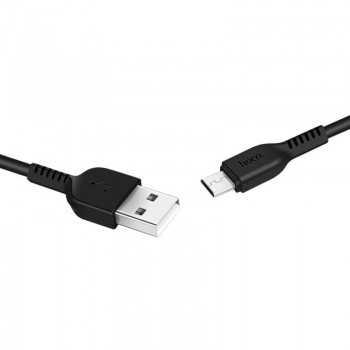 CÂBLE USB HOCO X20 VERS MICRO USB FLASH 3 M-NOIR