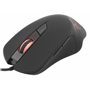 ENSEMBLE SOURIS GAMING 3200 DPI-TAPIS SOURIS WHITE SHARK BLACK FOOT
