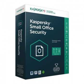 KASPERSKY SMALL OFFICE SECURITY 6.0 - 5 POSTES + 1 SERVEUR