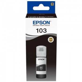 Bouteille D'encre Original EPSON ECOTANK 103 - Noir (C13T00S14A)