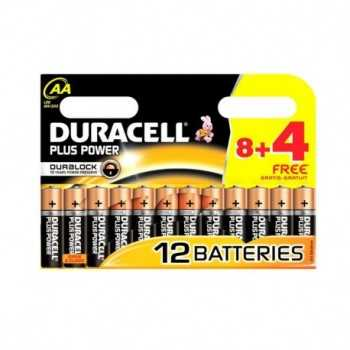 Piles Alcaline DURACELL Plus Power AA