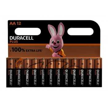 Pile Duracell Plus AA 12