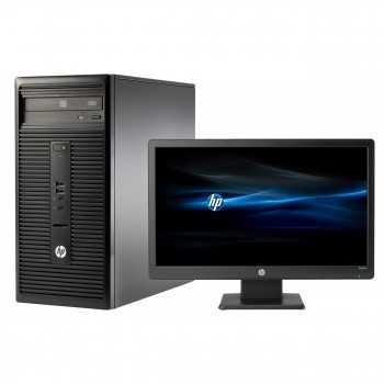 Pc de Bureau HP Reconditionné Dual Core- 4Go -500Go + Ecran 20''
