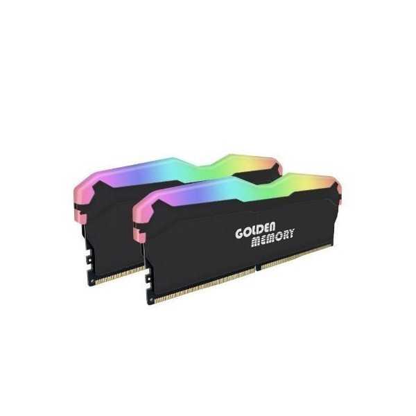 BARRETTE MÉMOIRE GOLDEN MEMORY RGB 8Go DDR4