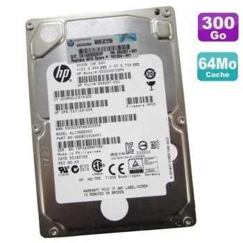 "Disque Dur HP 2.5"" 300Go SFF 6G Dual Port SAS 10K"