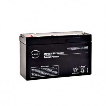 batterie plomb AGM NX 6V-10AH F 6.35