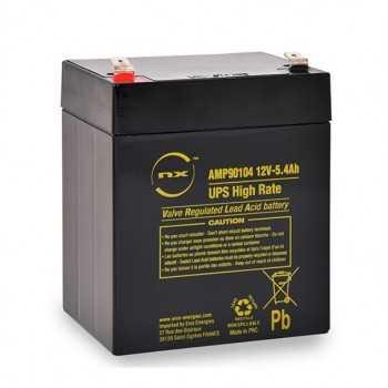Batterie onduleur UPS HIGH RATE NX 12V-5.4AH F 6.35