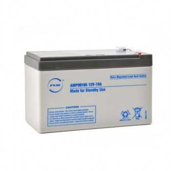 Batterie plomb AGM NX 12V-7 AH F 4.8 Standby
