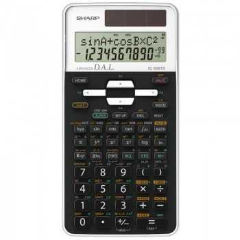 CALCULATRICE SHARP 470 FONCT EL-506TS-WH