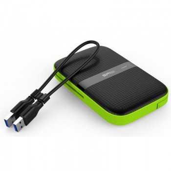 DISQUE DUR EXTERNE SILICON POWER SP A60 1T ANTICHOC USB 3.1