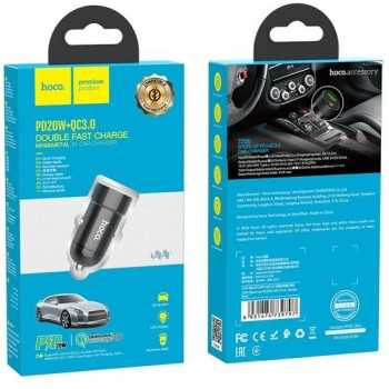 CHARGEUR VOITURE DUAL HOCO...