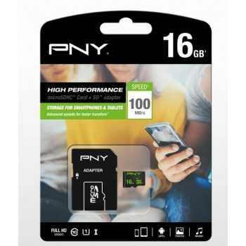 CARTE MEMOIRE 16GB PNY HIGH...