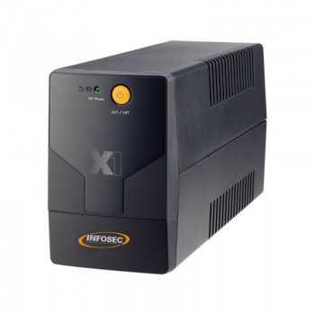 INFOSEC ONDULEUR INLINE 700VA 2 PRISE REF X1-EX-700