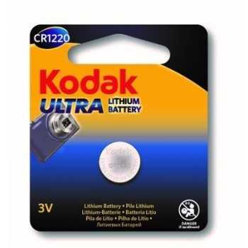 Pile Bouton 3V Kodak Ultra Lithium CR1220