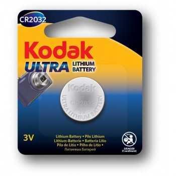 Pile Bouton 3V Kodak Ultra Lithium CR2032
