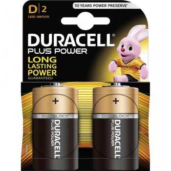 Pile Alcaline Duracell Type D