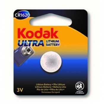 Pile Bouton KODAK Ultra CR1620 Lithium 3V (30414327)