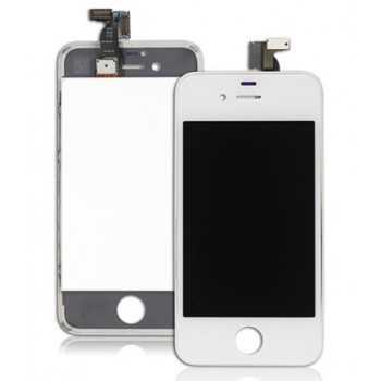 Ecran LCD + Vitre Tactile iPhone 4S Blanc