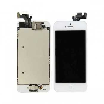 Ecran LCD + Vitre Tactile iPhone 5 Blanc
