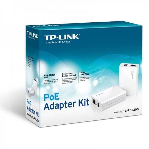 Adaptateur PoE TP-LINK TL-POE200