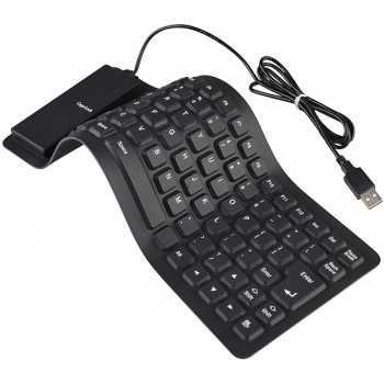 Clavier Flexible USB Azerty