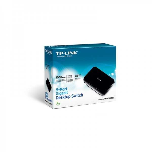 Switch TP-LINK 5 Ports Gigabit