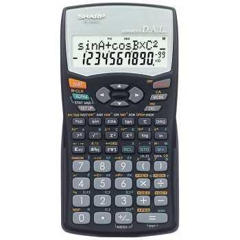 Calculatrice Scientifique SHARP EL-509W