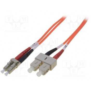 Jarretiere Duplex Fibre Optique Mm Lc-sc Digitus 2m