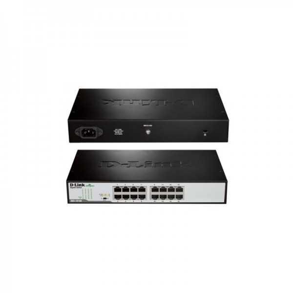 Switch D-Link DGS-1016D/E 16 ports Gigabit Rackable