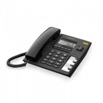Téléphone Fixe Filaire ALCATEL T56 Avec Afficheur - Noir